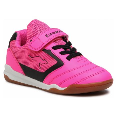 Sneakersy KANGAROOS - Race Comb EV 18502 000 7018 Neon Pink/Jet Black