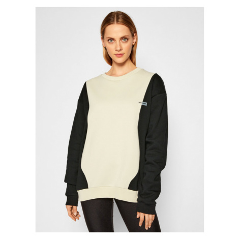 Local Heroes Bluza Wave Sweatshirt AW2021S0019 Beżowy Regular Fit
