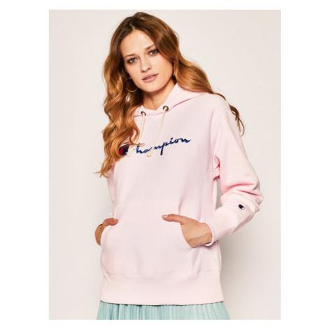 Champion Bluza 113149 Różowy Custom Fit