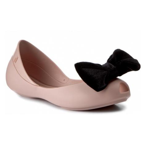 Baleriny MELISSA - Mel Queen IV Inf 31981 Pink/Black 51647