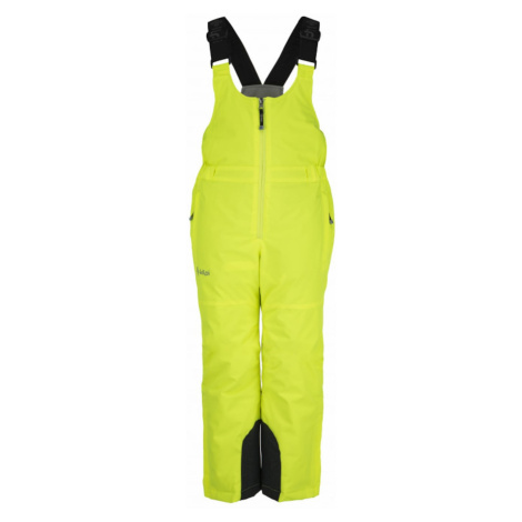Dziewczyny spodnie narciarskie Mia-jg żółty - Kilpi