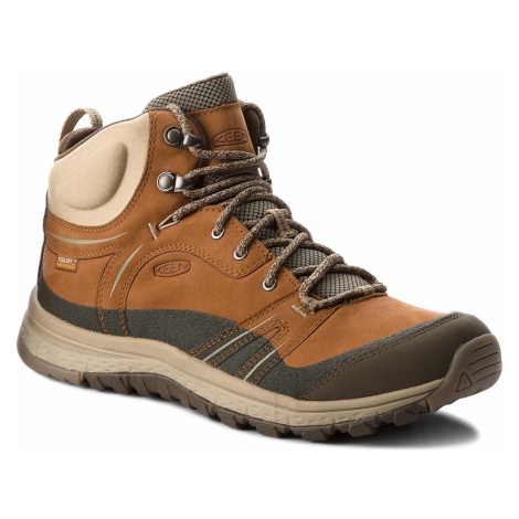 Trekkingi KEEN - Terradora Leather Mid Wp 1017752 Timber/Cornstalk