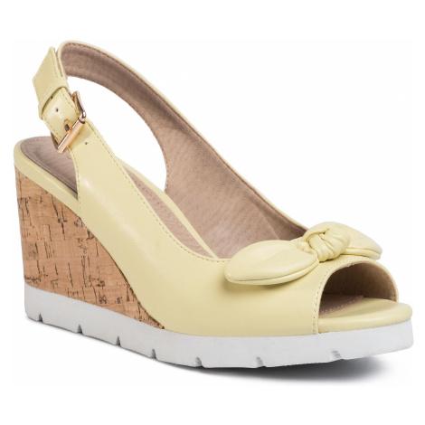 Sandały CLARA BARSON - LS5206-01 Yellow