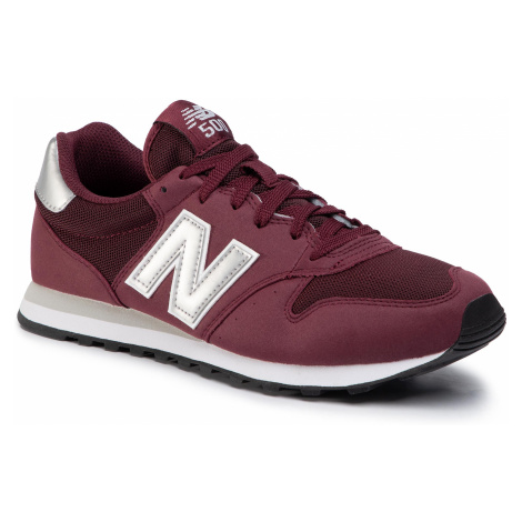 Sneakersy NEW BALANCE - GM500BUS Maroon