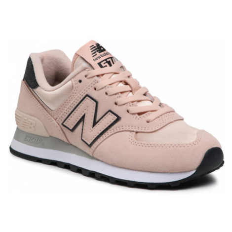 New Balance Sneakersy WL574FL2 Różowy