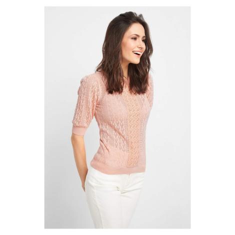 Ażurowy sweter Orsay