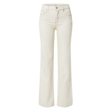 Free People Jeansy 'Laurel Canyon ' kremowy