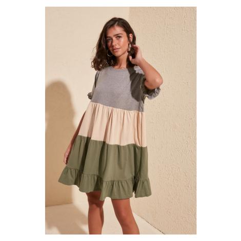 Women's dress Trendyol Pucker Detailed Knitting