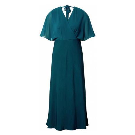 S.Oliver BLACK LABEL Sukienka ciemnozielony