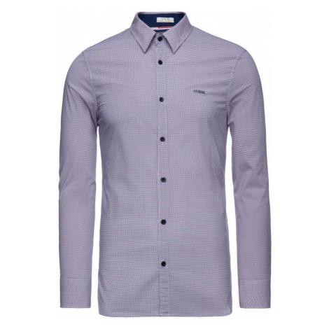 Guess Koszula M93H41 W8BX0 Kolorowy Slim Fit