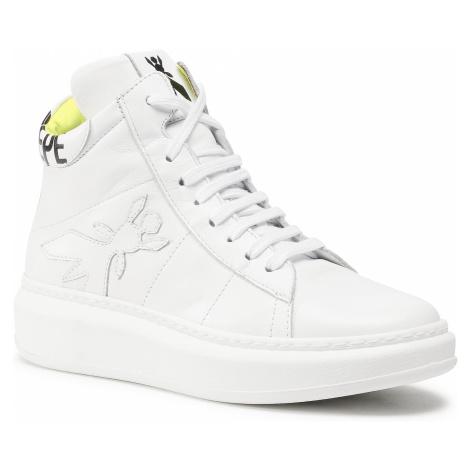 Sneakersy PATRIZIA PEPE - 2V9709/A3KW-X1EC White/Yellow