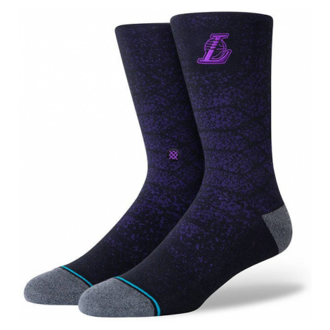 Skarpetki Stance Los Angeles Lakers Snakeskin A545A20LSS PUR