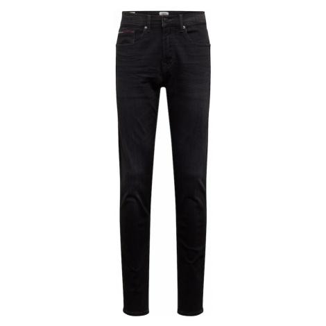 Tommy Jeans Jeansy 'SLIM TAPERED STEVE VRNBS' czarny denim Tommy Hilfiger