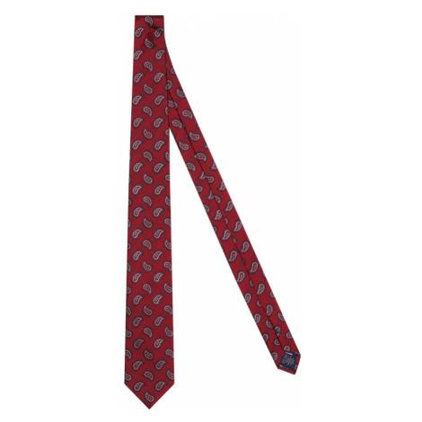 Tommy Hilfiger Tailored Krawat Paisley TT0TT08355 Czerwony