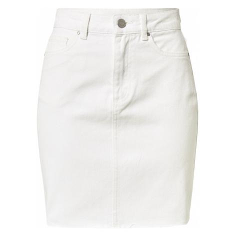 VILA Spódnica 'DERESSA' biały denim