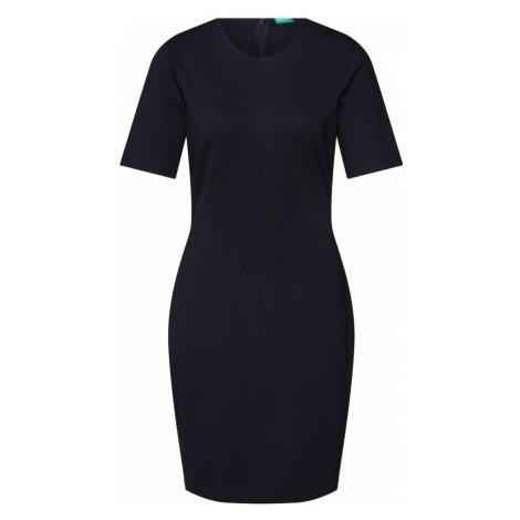 UNITED COLORS OF BENETTON Sukienka czarny