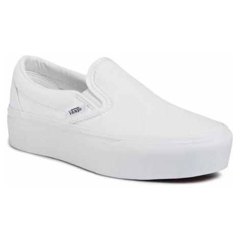 Tenisówki VANS - Classic Slip-On P VN0A3JEZW001 True White