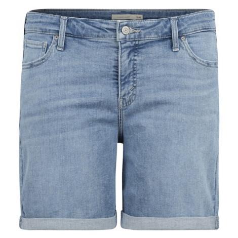 Levi's® Plus Jeansy 'NEW SHORT' niebieski denim