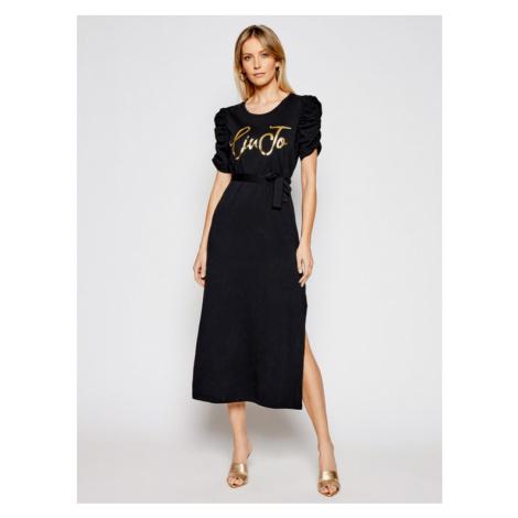 Liu Jo Sukienka codzienna WA1246 J5703 Czarny Regular Fit
