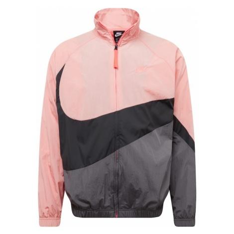 Nike Sportswear Kurtka przejściowa różowy / czarny