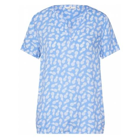 TOM TAILOR Bluzka jasnoniebieski / biały