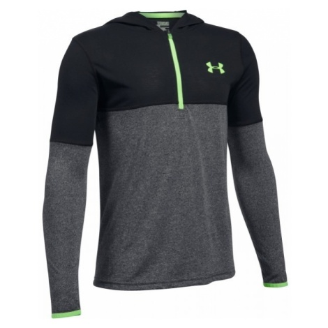 Under Armour THREADBORNE 1/4 ZIP HOOD - Bluza chłopięca