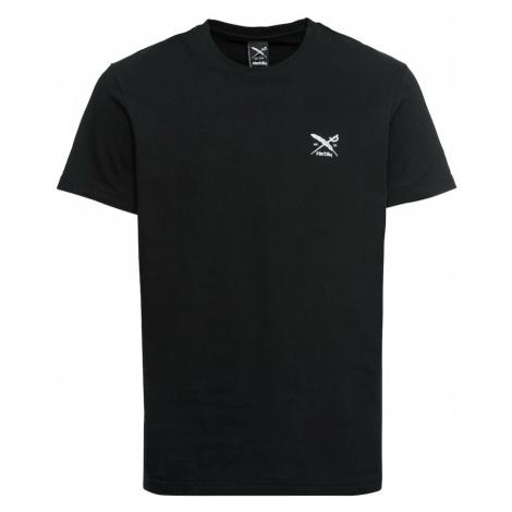 Iriedaily Koszulka 'Chestflag Tee' czarny / biały