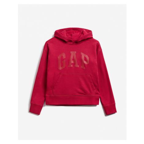 GAP Bluza dziecięca Czerwony