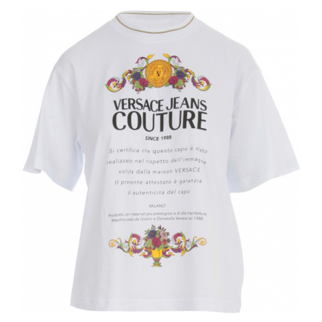 Printed T-shirt Versace