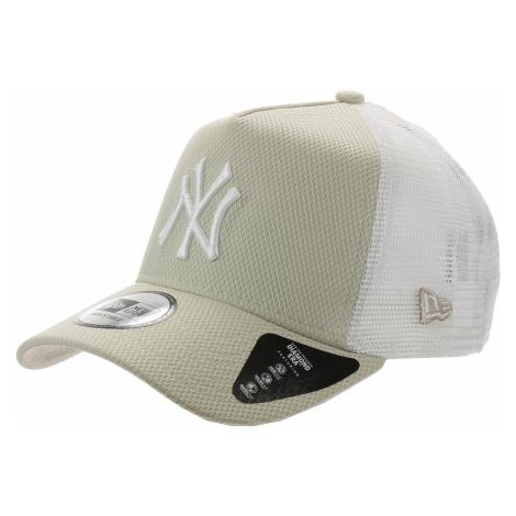 czapka z daszkiem New Era 9FO AF Diamond Era Truck MLB New York Yankee - Stone/White/White