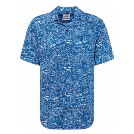 Only & Sons Koszula 'LEO' niebieski / biały