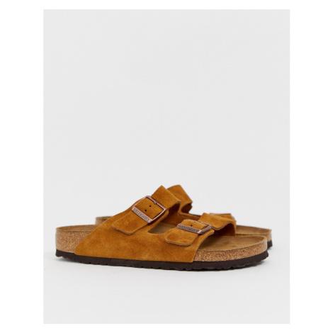 Birkenstock Arizona sandals in mink suede