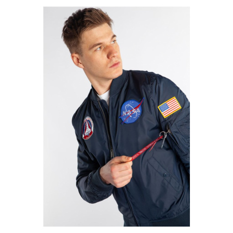 Kurtka Alpha Industries Ma 1 Tt Nasa Reversible Ii 07 Rep. Blue