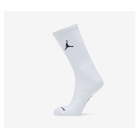 Jordan Everyday Max 3PR Crew Socks White/ White/ White/ Black