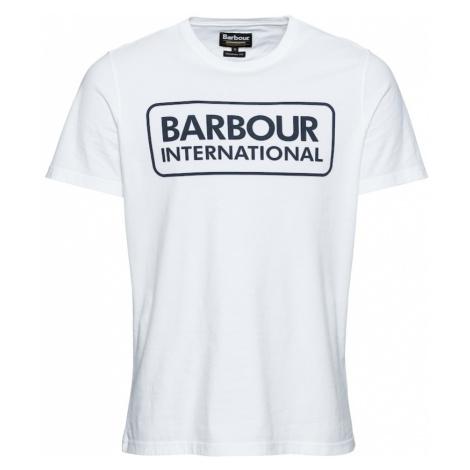 Barbour International Koszulka 'Essential Large Logo Tee' biały