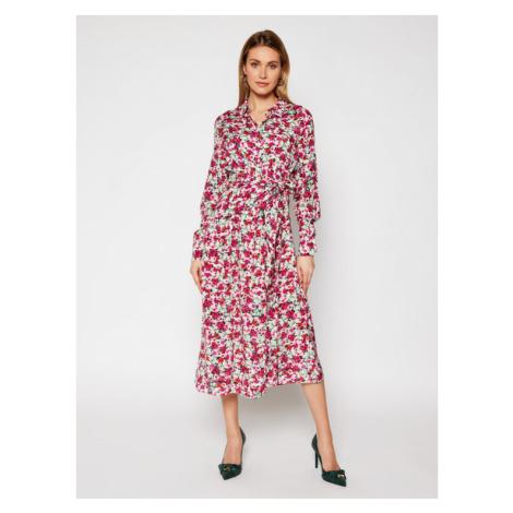 Guess Sukienka koszulowa W1RK90 WDDE0 Kolorowy Regular Fit