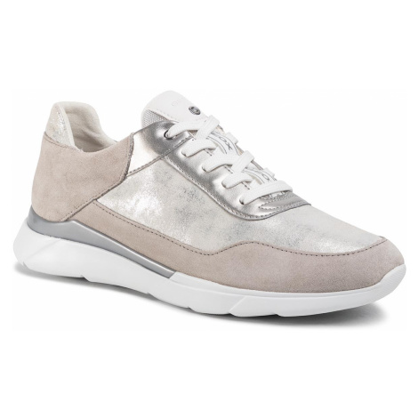 Sneakersy GEOX - D Hiver A D94FHA 07722 C0898 Silver/Lt Grey