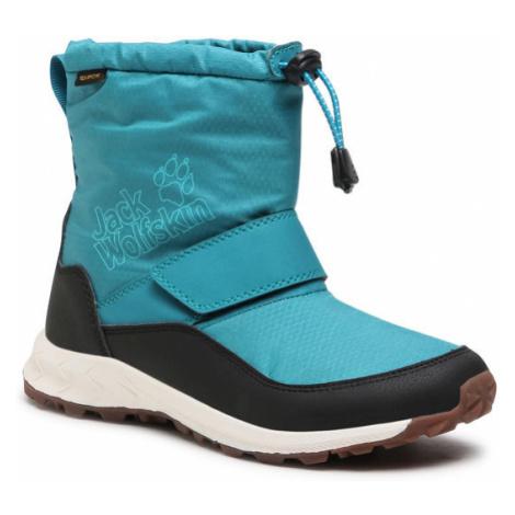Jack Wolfskin Śniegowce Woodland Texapore Wt Mid Vc K 4042531 Niebieski