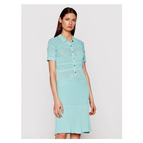Marciano Guess Sukienka dzianinowa 1GG752 5640Z Zielony Slim Fit