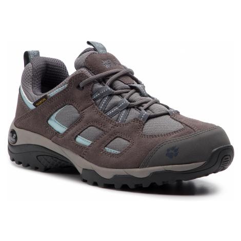 Trekkingi JACK WOLFSKIN - Vojo Hike 2 Texapore Low W 4032391 Tarmac Grey