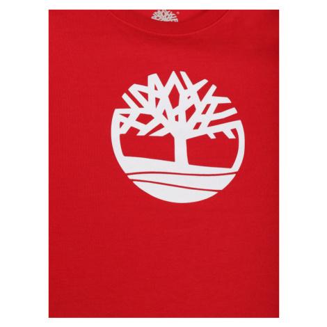 Timberland T-Shirt T25Q60 D Czerwony Regular Fit