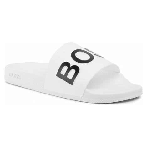 Klapki BOSS - Bay 50425631 10224216 01 White 100 Hugo Boss