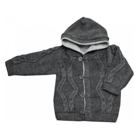 EKO sweter chłopięcy ciemnoszary