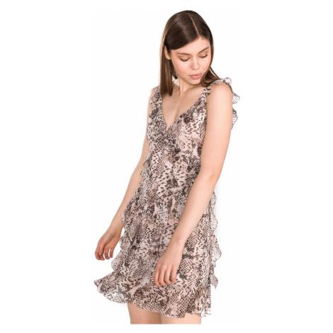 Liu Jo Sukienka Beżowy