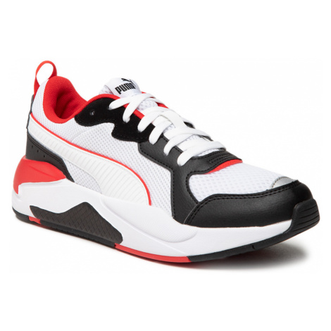 Sneakersy PUMA - X-Ray 372602 14 White/White/Black/Red/Silver
