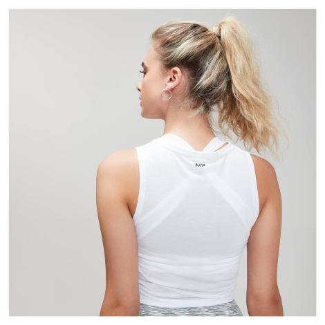 Damska koszulka treningowa bez rękawów Energy z kolekcji Essentials MP – biała