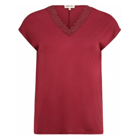 ABOUT YOU Curvy Koszulka 'Kate' czerwony
