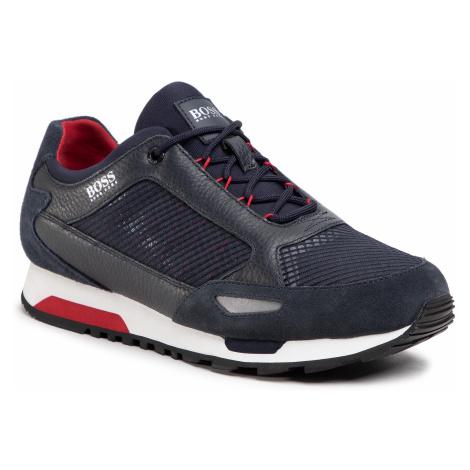 Sneakersy BOSS - Parkour 50445695 10214599 01 Dark Blue 401 Hugo Boss