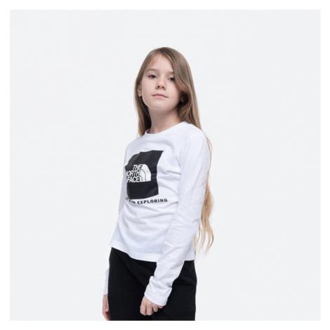 Koszulka dziecięca The North Face Youth Longsleeve Box Logo Tee NF0A4MA6FN4