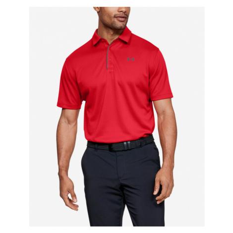 Under Armour Tech™ Polo Koszulka Czerwony